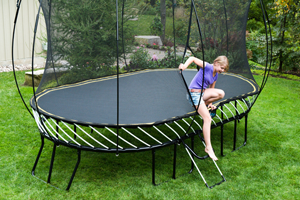 melbourne trampoline assembly